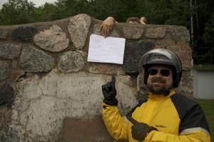 Mike at Chippewa Falls